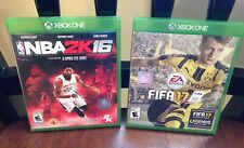 Xbox One Games Fifa 17 and NBA 2k16