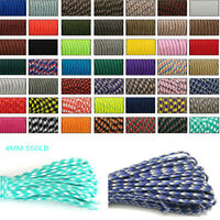 33//50//100FT 550 Paracord Parachute Cord Lanyard Mil Spec Type III 7 Strand Core