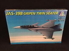 Italeri JAS-39B Gripen Twin Seater 1:72 Scale Model Kit 1216 New Sealed Box