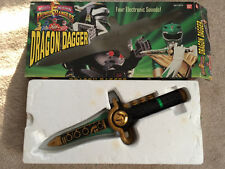Mighty Morphin Power Rangers DRAGON DAGGER in BOX WORKS Vintage 1994 Bandai 2251