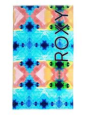 Roxy Da Donna Asciugamano. NUOVO foschia blu grandi Cotone Estate Spiaggia Vacanza 7s/3219/wbt8