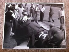 Jose Froilan Gonzalez Ferrari 375 German Grand Prix 1951 Signed **Large 16 x 12*
