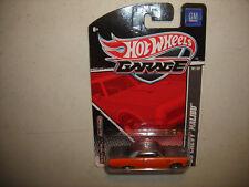 2011 Hot Wheels #10/22 GM Garage Orange and Gray '65 CHEVY MALIBU Real Riders