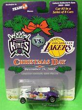 LOS ANGELES LAKERS DIE CAST CAR #3 OF 8  CHRISTMAS DAY 2002 KINGS VS LAKERS
