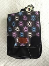 NWT Hello Kitty Black Backpack Tea Pots with Poodle Purple Pink Pencil Pouch