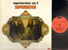 SUPERSISTER Superstarshine vol 3 LP She Was Naked RADIO a Girl Named You WOW