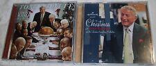 LOT Christmas Music CD TONY BENNETT The Count SWINGIN' BASIE BIG BAND & HALLMARK
