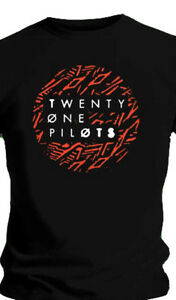 TWENTY ONE PILOTS Lane Dot Logo Ladies Large SZ LG TShirt
