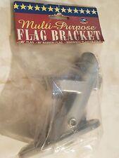 NEW Multi-Purpose Flag Bracket Aluminum 45 Degree 80 Degree Banner Wind Sock Sox