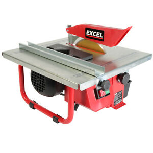 Excel Tile Cutter 180mm Electric Water Cooled Diamond Blade Saw Tiling Ceramic