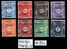 COTE SOMALIS : Timbres Taxe 21 à 28, Neufs ** = Cote 24 € / Lot COLONIES France