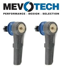 NEW For GMC Sierra 3500 HD Pair Set of Front Outer Tie Rod Ends Mevotech MES3609