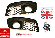 VW GOLF MK5 V GTI 2003-2009 - PAIR FRONT BUMPER LOWER  MESH GRILLE LEFT & RIGHT
