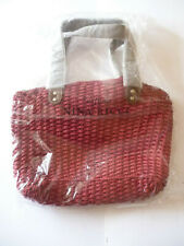 Nina Ricci Parfums Red Open Top Shopper Bag/Handbag