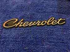 1964 Chevy Impala 24k Gold Plated Grill Emblem