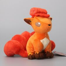 "7"" New Pokemon Center Vulpix Plush Dolls Anime Stuffed Soft Toys Xmas Gift 18cm"