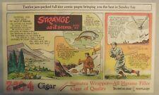 Strange As It Seems: Valparaiso Chile, Gadmen Switzerland by Hix from 1952