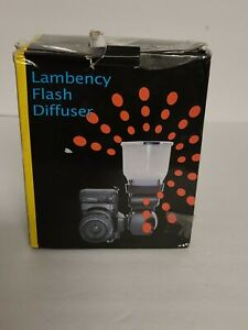 Lambency Flash Diffuser  Fits Nikon, Canon New Sealed Fast Prompt Shipping