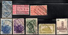 stamps Belgium Pp12 Pp13(2) Pp26(2) Pp27 Pp32 Pp38 (1923-1957) Lot