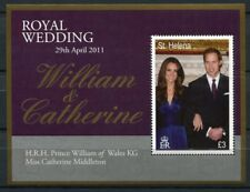 St. Helena 2011 Kgl. Hochzeit Royal Wedding Prinz William Kate Royalty MNH