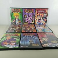 Yugioh Battle City Duels DVD Movies Volumes 1-9 / 5 DVDS Are Special Edition