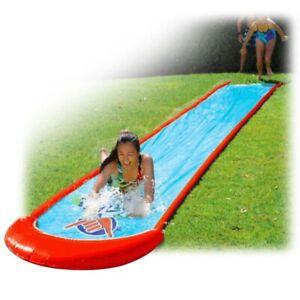 Wahu Super Slide Wasserrutschbahn 750 cm Wasser Spraysystem Rutsche Rutschbahn