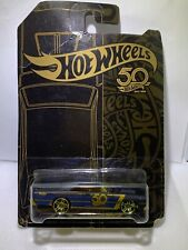 """HOT WHEELS 50th ANNIVERSARY GOLD AND BLACK COLLECTION 4/6 """" 68 DODGE DART"""" MATTE"""