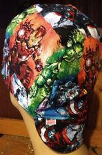Avengers Splatter 100% cotton, Welding, Biker, pipefitter,4 panel hat