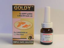 eSHa GOLDY 10ml. GOLDFISH TONIC. For happy Goldfish in Healthy Bowls.