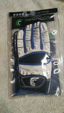 Cutters 017XT The Gamer football gloves- White/ Royal Blue -Adult Small- New