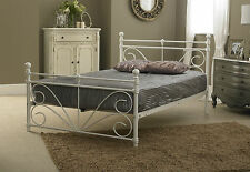 BRAND NEW 4ft Small Double Bed Frame in White