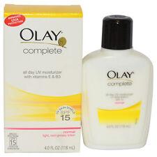Olay Complete All Day Uv Moisturizer Spf 15 By Olay Unisex 4oz Moisturizer