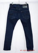 P526/40 G-Star Raw 01  Denim Blue Cotton/Strech Super Slim Fit Jeans, W32 L30