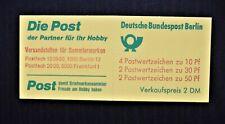 GERMANY - BERLIN 1977 Stamp booklet 8 Stamps CASTLES & HALLS  2 DM - MNH