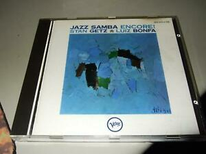STAN GETZ/LUIS BONFA : JAZZ SAMBA ENCORE FIRST PRESS CD VERVE POLYGRAM WEST