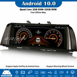 "10.25"" Android 10 Car Stereo SatNav DAB+IPS 4G DVR BMW 5 Series F10/F11 with NBT"