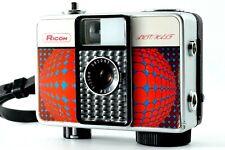 【Vintage '66】Sun Red Geometrick Ricoh Auto Half E 25mm F2.8 Rangefinder Camera