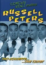 Russell Peters - Two Concerts One Ticket [New DVD]