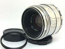 Silver HELIOS-44 f2/58mm Lens - KMZ 13 blades aperture - USSR mount M39/M42