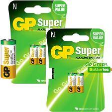 4 x GP LR1 1.5V Alkaline Batteries MN9100 N 910A E90 KN AM5 Bite Alarm Security