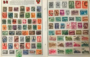Lot of Peru Old Stamps Used/MH/MNH