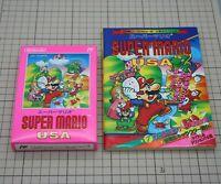 Super Mario USA + Guidebook Set NES Famicom Nintendo FC japan