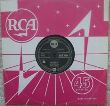 """Elvis Presley - All Shook Up / That's When Your Heartaches 10"""" Numbered Vinyl EX"""