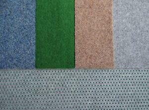 Kunstrasen Rasenteppich mit Noppen 133 cm   blau-grau grün beige-braun hell-grau