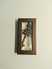 Bronze vintage skeleton key bottle opener -  Gift  Box Included.