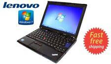 "CHEAP Lenovo ThinkPad X201 12.1"" Intel Core i5 4 GB RAM 320 GB HDD Webcam Win7.."