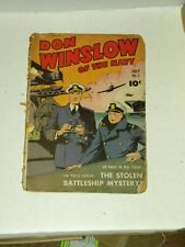 Golden Age comic book Don Winslow of the Navy #5 Mary Marvel ad Captain's sister