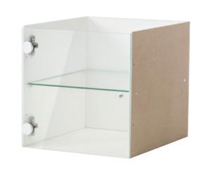 IKEA EXPEDIT KALLAX  Glaseinsatz Vitrinentüreinsatz Vitrinen Tür NEU / OVP