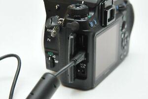 Genuine Pentax OEM USB Data Sync Cable Cord For Optio K-r K-x K-5 K-7 D K 20 D