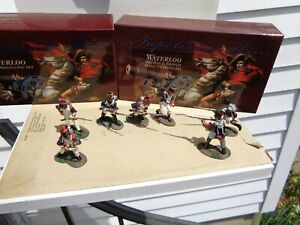 Britains 00152 & 00153 Napoleonic British Infantry & French in Box & more, NB